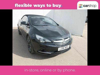 used Vauxhall Cascada 1.4T Elite 2dr Leather Seats