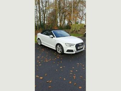 used Audi A3 Cabriolet Cabriolet 2.0 TDI S line S Tronic Auto 6Spd (s/s) 2dr