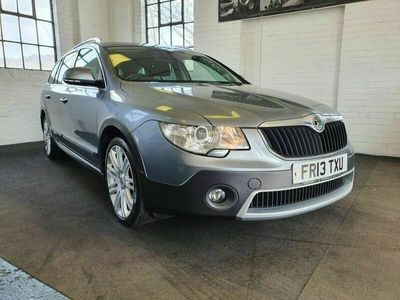 used Skoda Superb 2.0 OUTDOOR TDI CR DSG 5d 170 BHP SERVICE HISTORY # 2 OWNERS FROM NEW