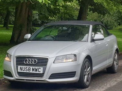 used Audi A3 Cabriolet Cabriolet 1.9 TDI 2dr