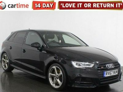 used Audi A3 Sportback 2.0 S3 TFSI QUATTRO BLACK EDITION 5d 306 BHP Service History Your dream car can become a reality with cartime's fantastic finance deals.