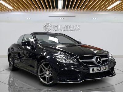 used Mercedes E250 E-Class CabrioletCDI AMG Sport 2d Tip Auto