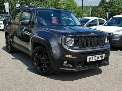 used Jeep Renegade 1.6 MultiJetII Dawn of Justice SUV 5dr Diesel (s/s) (120 ps)