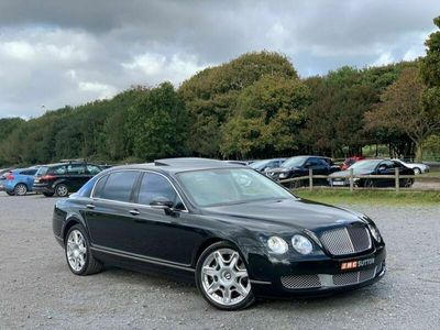 used Bentley Continental Flying Spur PETROL AUTOMATIC SALOON 4 DOORS