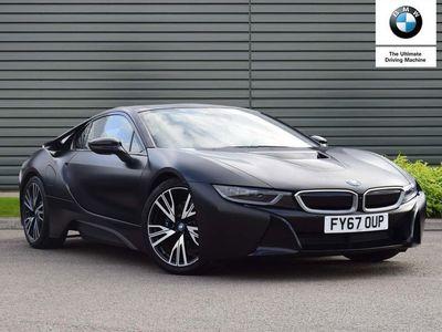 used BMW i8 Coupe Protonic Frozen Black Edition