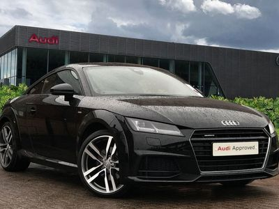used Audi TT Coup- S line 2.0 TFSI quattro 230 PS S tronic 3dr