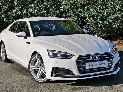 used Audi A5 45 TFSI Quattro S Line 2dr S Tronic
