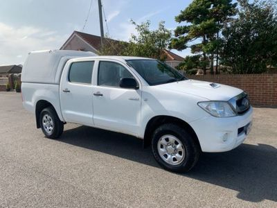 used Toyota HiLux 2.5 HL2 4X4 D-4D DCB 142 BHP, 2011, not known, 117047 miles.