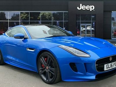 used Jaguar F-Type 3.0 S/C V6 British Design Edition 2dr Auto AWD Petrol Coupe