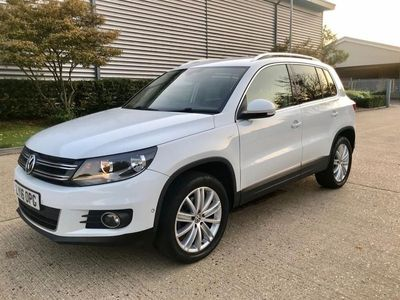 used VW Tiguan 2.0 TDI BlueMotion Tech Match Edition DSG 4MOTION (s/s) 5dr