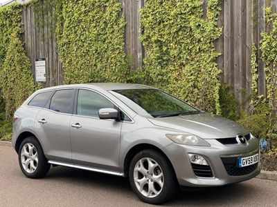 used Mazda CX-7 2.2d Sport Tech 5dr DONE 56K+F/S/HISTORY, 2010 (59)