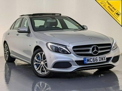 used Mercedes C350e C Class 2.06.4kWh Sport (Premium) G-Tronic+ (s/s) 4dr HIGH SPEC HYBRID SVC HISTORY Saloon 2017