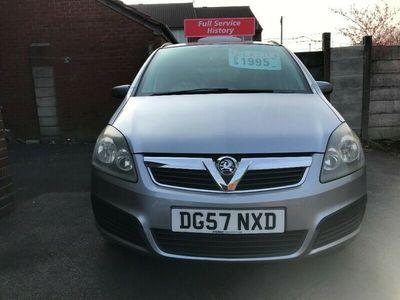 used Vauxhall Zafira Life 1.6i 16v MPV 5d 1598cc