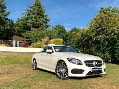 used Mercedes C250 C-Class 2.1D AMG LINE PREMIUM PLUS 2d 201 BHP AUTOMATIC,SAT NAV,