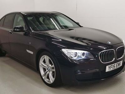 used BMW 730 7 Series 3.0 d M Sport Exclusive (s/s) 4dr