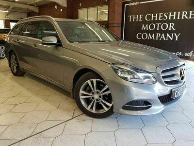 used Mercedes E220 E Class 2.1BLUETEC SE 5d 174 BHP + LEATHER + NAV + HISTORY +