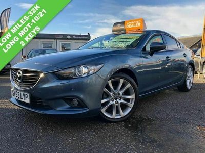 used Mazda 6 PETROL MANUAL SALOON 4 DOORS
