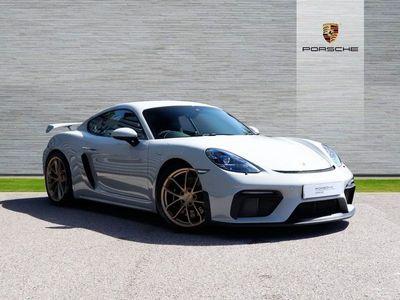 used Porsche 718 Cayman GT4