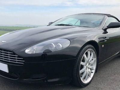 used Aston Martin DB9 PETROL AUTOMATIC CONVERTIBLE 2 DOORS