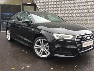 used Audi A3 SALOON 35 TFSI S Line 4dr S Tronic