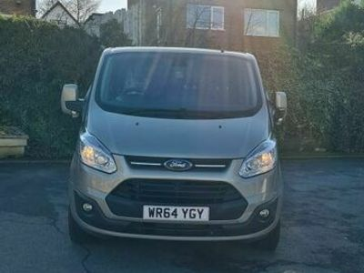 used Ford 300 Tourneo Custom 2.2 TDCiTitanium Low Roof Shuttle Bus L 5dr (9 Seats, LWB)