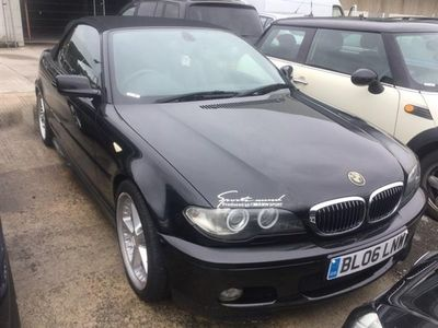 used BMW 330 Cabriolet 2006 BMW 330 Ci M Sport 2dr Auto CONVERTIBLE FULL LEATHER