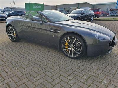 used Aston Martin V8 Vantage 4.3ROADSTER SPORTSHIFT PETROL 2 DOOR IN GREY JUST BEEN SERVICED 2dr