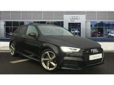 used Audi A3 Sportback S3 TFSI Quattro Black Edition 5dr S Tronic Petrol Hatchback special editions