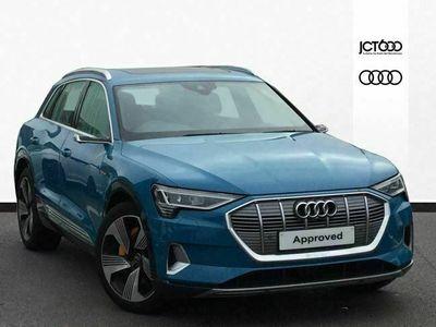 used Audi E-Tron - 300kW 55 Quattro 95kWh Edition 1 5dr Auto estate special editions