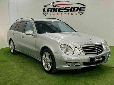 used Mercedes E320 E-Class 3.0CDI AVANTGARDE 5d 222 BHP SAT NAV, HEATED BLACK LEATHER