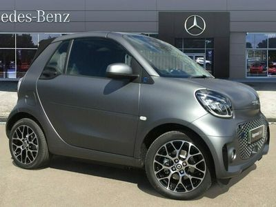 used Smart ForTwo Electric Drive EQ cabrio 60kW EQ Exclusive 17kWh 2dr Auto [22kWCh] Cabriolet