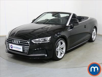 used Audi A5 Cabriolet 40 TFSI S Line 2dr S Tronic Auto