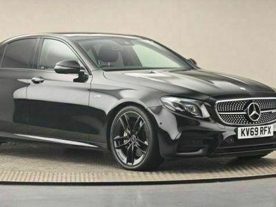 used Mercedes E53 AMG E Class 3.0BiTurbo EQ Boost AMG (Premium Plus) SpdS TCT 4MATIC+ (s/s) 4dr