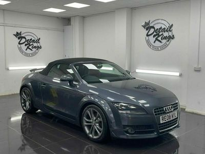 used Audi TT Roadster 2.0T FSI 2dr S Tronic fsh red leathers