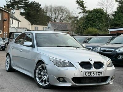 used BMW 525 5 Series 2.5 d Sport 4dr
