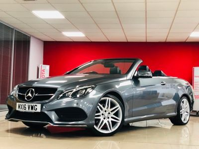 used Mercedes E220 E Class 2.1AMG Line Edition Cabriolet 7G-Tronic Plus (s/s) 2dr