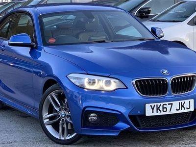 used BMW 220 2 SERIES 2018 Bradford i M Sport 2dr [Nav] Step Auto