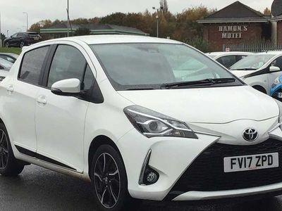 used Toyota Yaris 1.5 VVT-i Design 5dr Hatchback 2017
