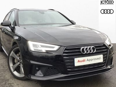 used Audi A4 40 Tdi Black Edition 5Dr S Tronic