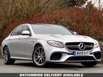 used Mercedes E63 AMG E Class 4.0BiTurbo V8 AMG (Premium) SpdS MCT 4MATIC+ (s/s) 4dr