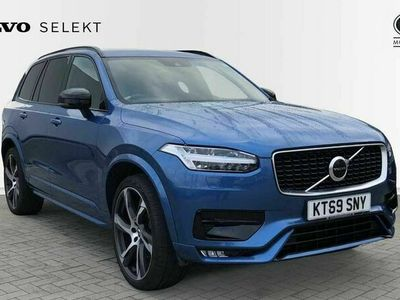 used Volvo XC90 II B5 (Petrol) 250 bhp AWD R Design Automatic (Winter Pack + Retractable Towba 2.0 5dr