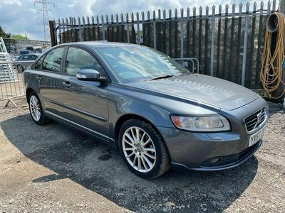 used Volvo S40 Saloon 2.0D SE Lux 4d