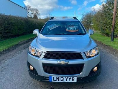 used Chevrolet Captiva 2.2 VCDi LT 5dr [7 Seats] FREE UK DELIVERY