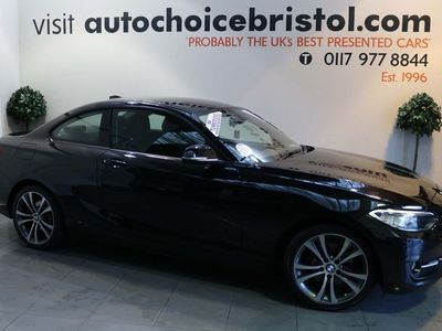 used BMW 220 2 Series 2.0 d Sport (s/s) 2dr