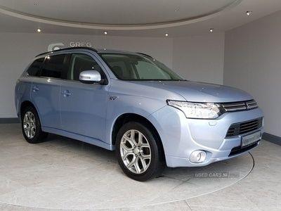 used Mitsubishi Outlander P-HEV GX4h
