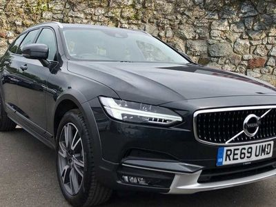 used Volvo V90 CC T5 AWD Plus Automatic (Blond Leather Interior)
