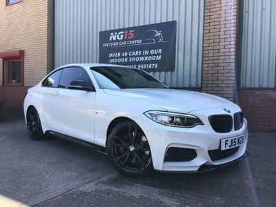 used BMW M235 M2 3.02d AUTO 322 BHP *PRO NAV *RED LEATHER *D