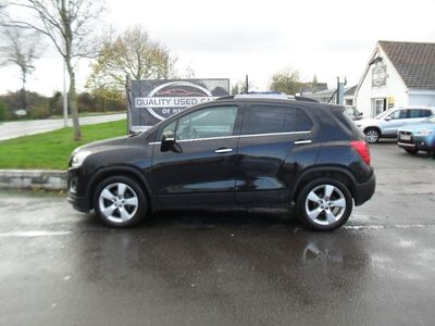 used Chevrolet Trax 1.4 (140ps) 4X4 LT (s/s) Hatchback 5d 1364cc