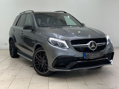 used Mercedes GLE63 AMG Gle-Class AMGS 4Matic Night Edition 5dr 7G-Tronic 5.5