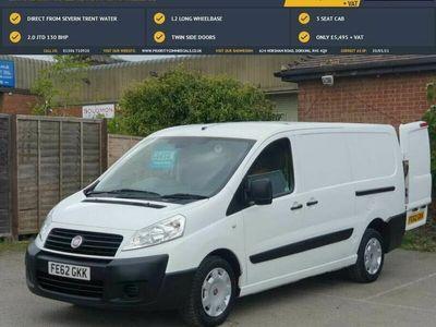 used Fiat Scudo 2.0TD Comfort 130 L2H1 12Q (EU V) Panel Van